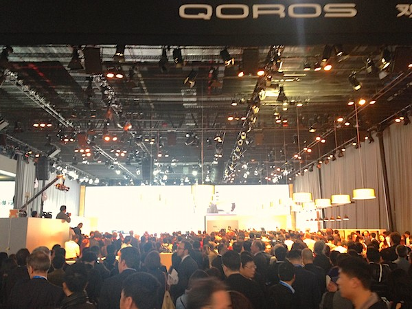 81. Qoros stand