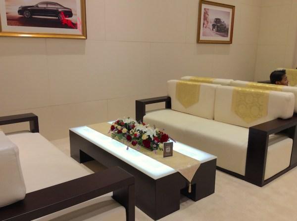 Hongqi VIP area