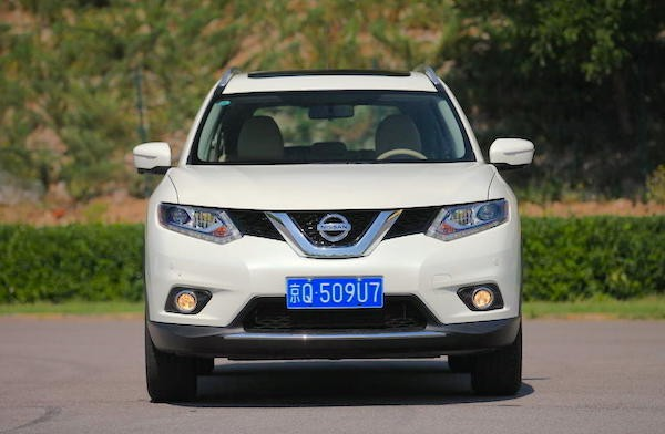Nissan X-Trail China April 2015. Picture courtesy auto.qq.com