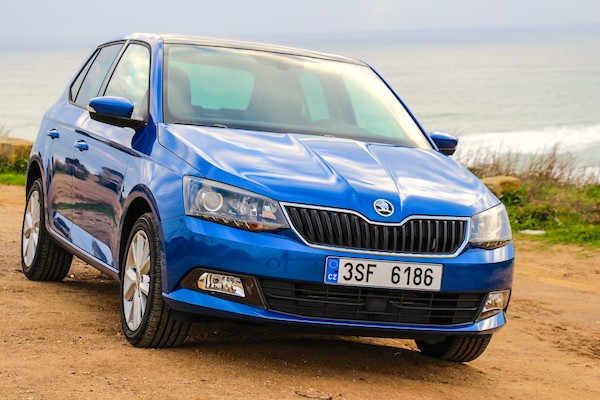 Skoda Fabia Poland April 2015. Picture courtesy rad-ab.com