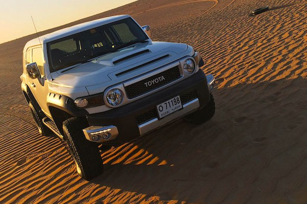 Toyota FJ Cruiser Yemen 2014. Picture courtesy motoringme.com