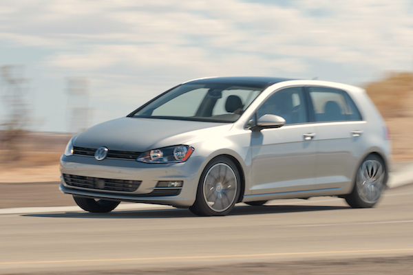 VW Golf Canada June 2015. Picture courtesy motortrend.com