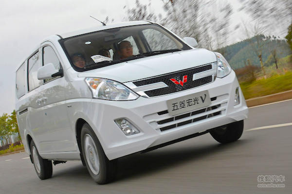 Wuling Hongguang V China 2016. Picture courtesy auto.sohu.com