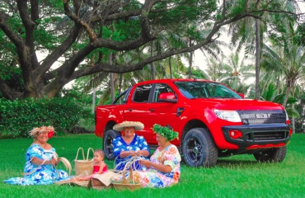 Ford Ranger Tahiti 2014. Picture courtesy Ford