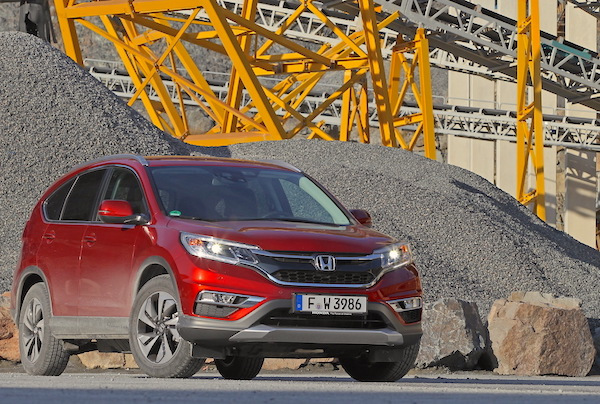 Honda CR-V Estonia May 2015. Picture courtesy largus.fr