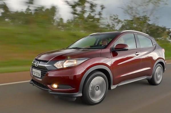 Honda HR-V South Africa July 2015. Picture courtesy shopcar.com.br
