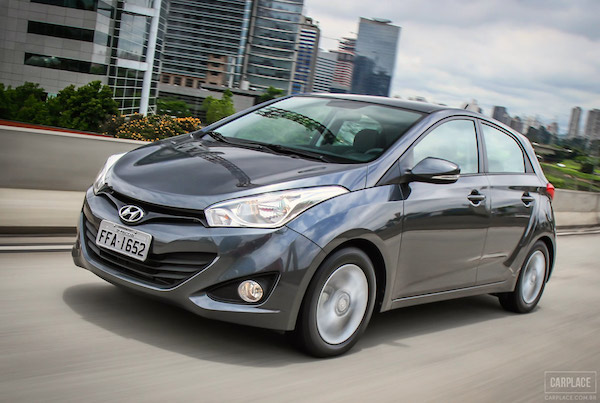 Hyundai HB20 Brazil May 2015. Picture courtesy carplace.uol.com.br