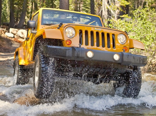 Jeep Wrangler USA September 2016