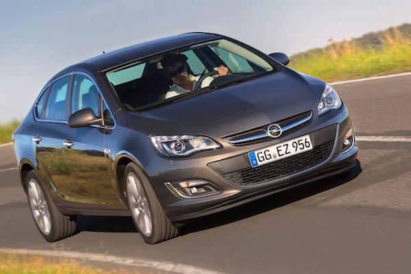 Opel Astra Croatia May 2015