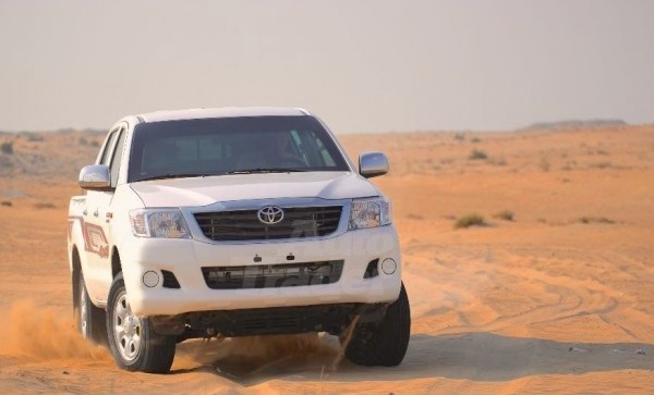 Toyota Hilux Oman March 2015. Picture courtesy autotraderuae.com
