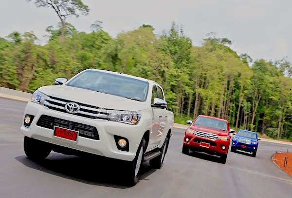 Toyota Hilux World 2015. Picture courtesy autodeft.com