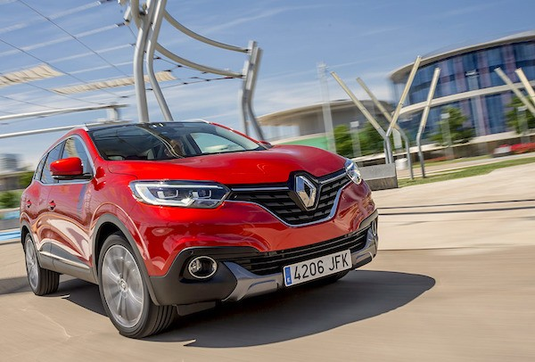 Renault Kadjar France May 2015. Picture courtesy largus.fr