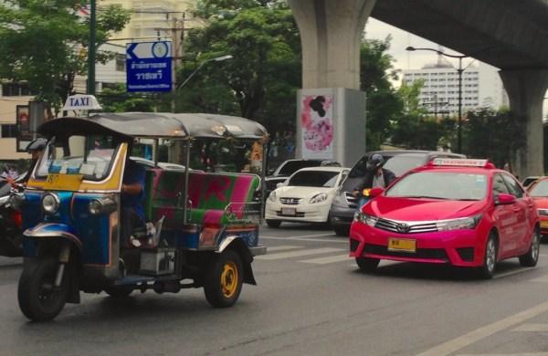 6. Toyota Corolla Taxi Bangkok July 2015
