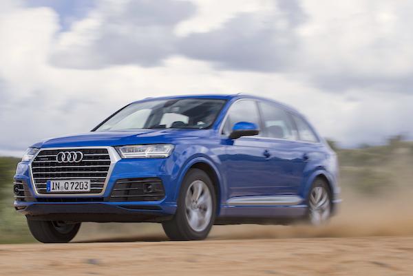 Audi Q7 San Marino 2015. Picture courtesy motortrend.com