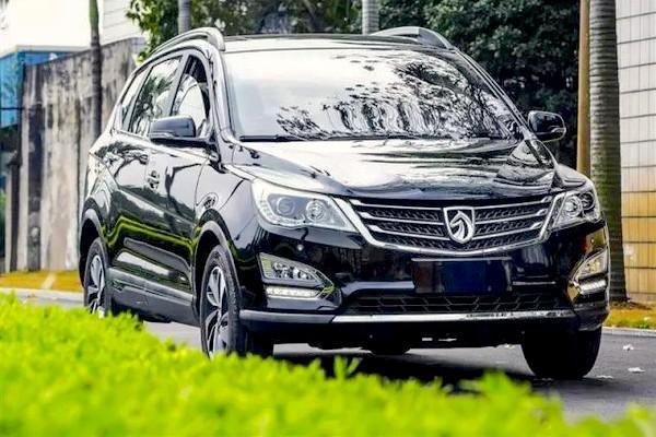 Baojun 560 China June 2015. Picture courtesy auto.sohu.com