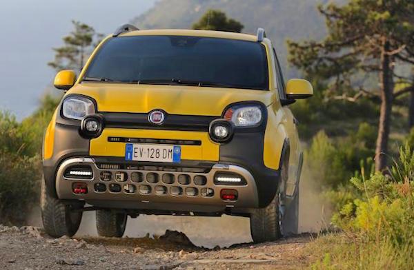 Fiat Panda Italy June 2015