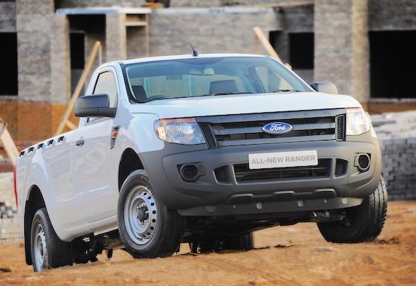 Ford Ranger South Africa June 2015