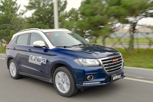 Haval H2 China June 2015. Picture courtesy autohome.com.cn