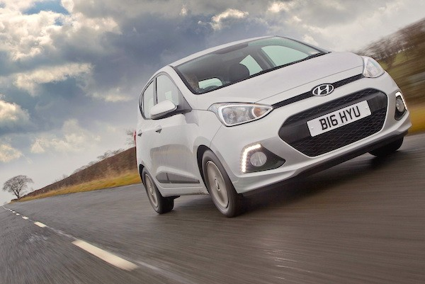 Hyundai i10 South Africa June 2015