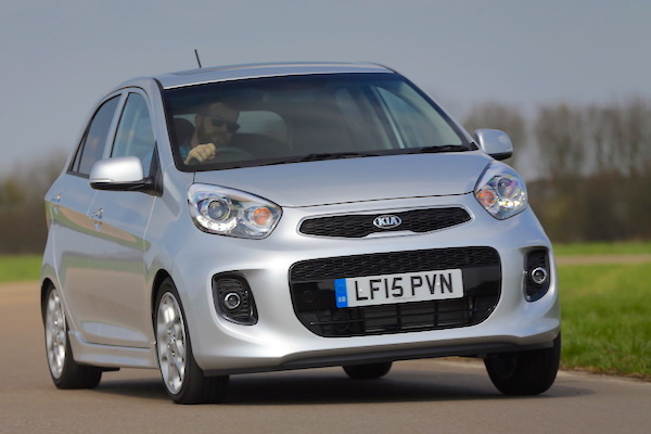 Kia Picanto Lebanon March 2015