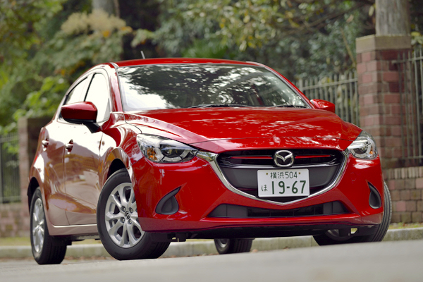 Mazda Demio Japan June 2015. Picture courtesy autoc-one-jp