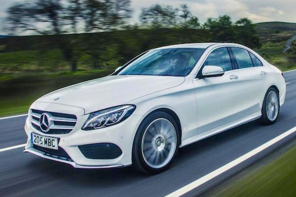 Mercedes C Class Europe July 2015. Picture courtesy telegraph.co.uk