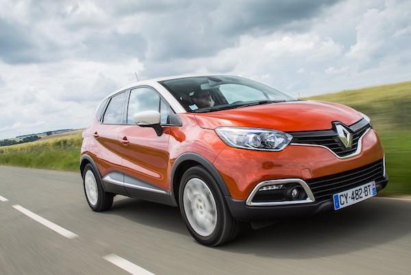 Renault Captur UK September 2015. Picture courtesy largus.fr