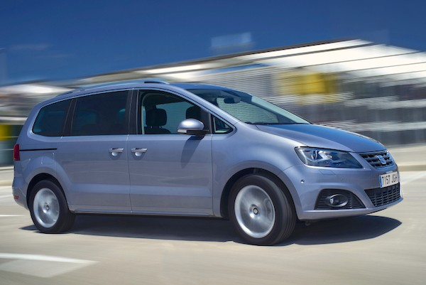 Seat Alhambra Switzerland June 2015
