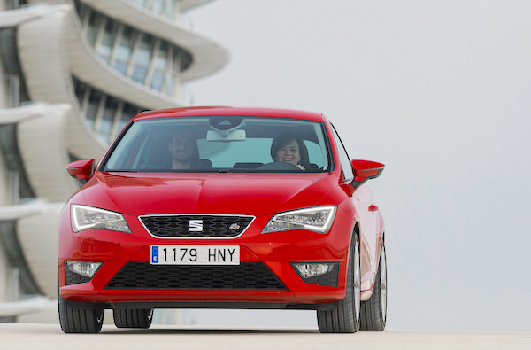 Seat Leon Spain June 2015. Picture courtesy caricos.com