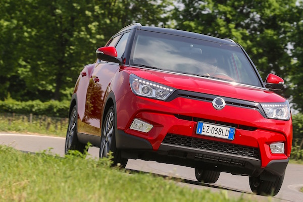 Ssangyong Tivoli Italy May 2015. Picture courtesy motorionline.com