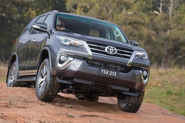 Toyota Fortuner VIetnam June 2015