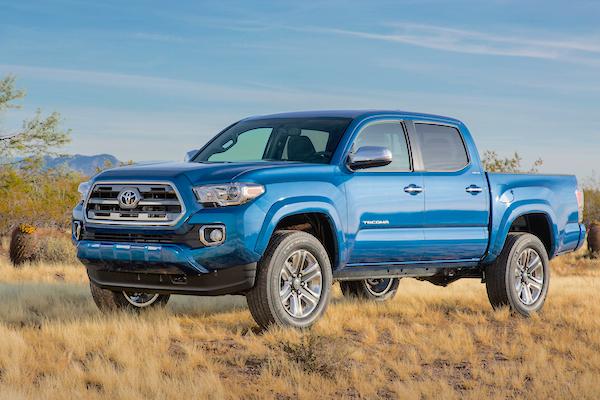 Toyota Tacoma USA June 2015. Picture courtesy motortrend.com