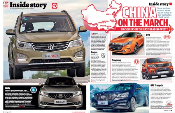 Auto Express China on the March