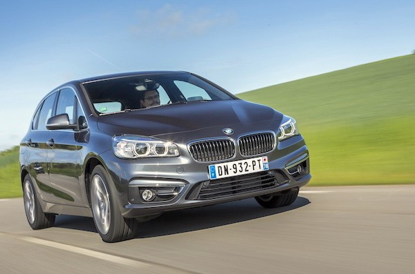 BMW 2 Series Active Tourer Germany June 2016. Picture courtesy largus.fr