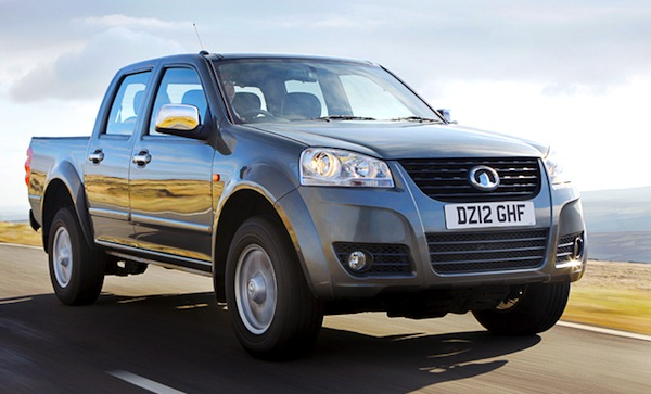 Great Wall Steed Bulgaria July 2015. Picture courtesy TopGear.co.uk