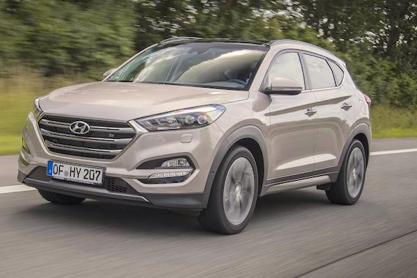 Hyundai Tucson UK July 2015. Picture courtesy autocar.co.uk