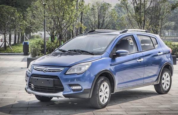 Lifan X50 Iran July 2015. Picture courtesy news.auto.ru