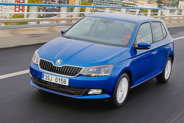 Skoda Fabia Czech Republic July 2015. Picture courtesy autobild.de