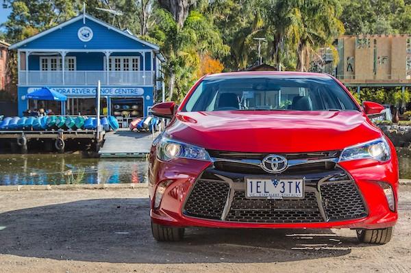Toyota Camry Australia July 2015. Picture courtesy caradvice.com.au