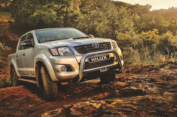 Toyota Hilux Venezuela September 2016. Picture courtesy sacarfan.co.za