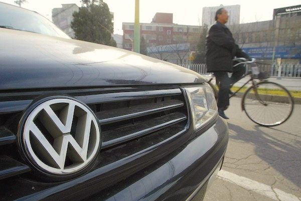 Volkswagen China. Picture courtesy scmp.com