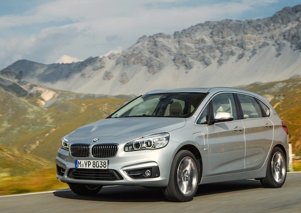 BMW 2 Series Active Tourer Europe August 2015