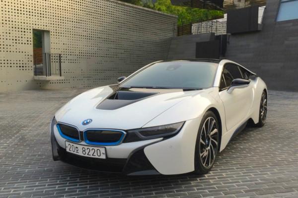 BMW i8 South Korea July 2015. Picture courtesy bobaedream.co.kr