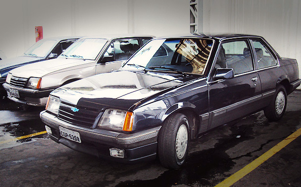 Chevrolet Monza Brazil 1987. Picture courtesy descalvadoagora.com.br