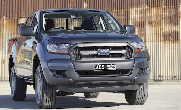 Ford Ranger New Zealand February 2016. Picture courtesy caradvice.com.au