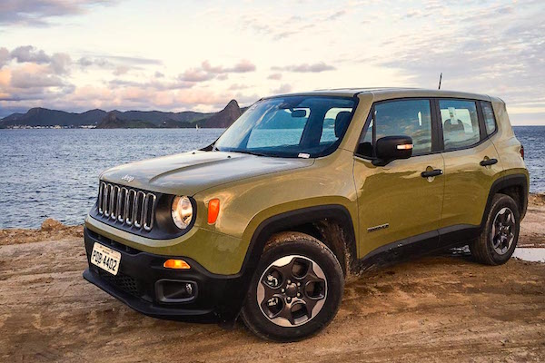 Jeep Renegade Brazil August 2015. Picture courtesy carplace.uol.com.br