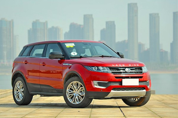 Landwind X7 China August 2015. Picture courtesy qctt.cn