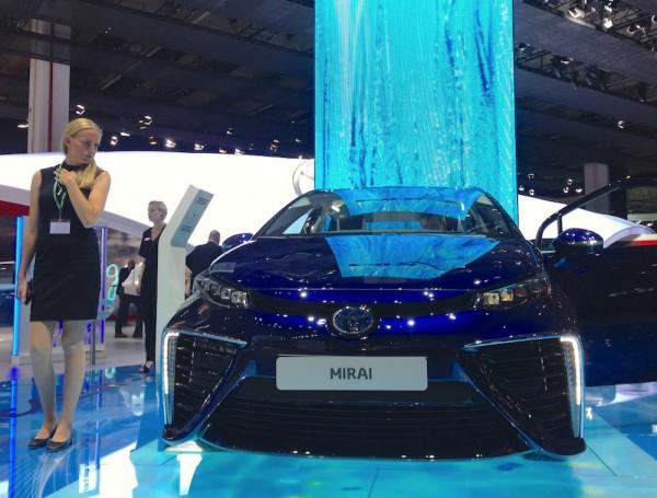Toyota Mirai Frankfurt 2015