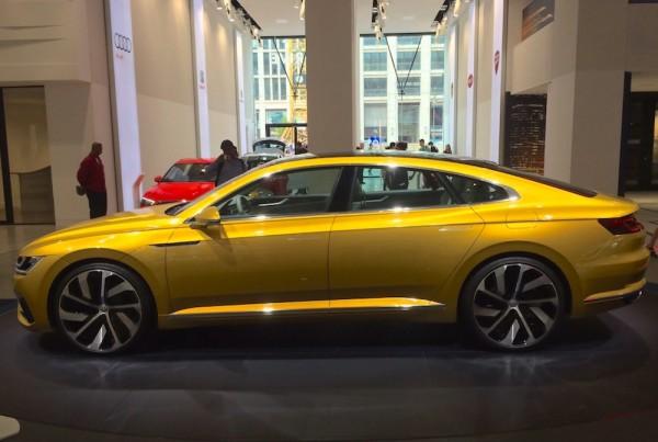 VW Sport Coupé Concept Berlin 2015