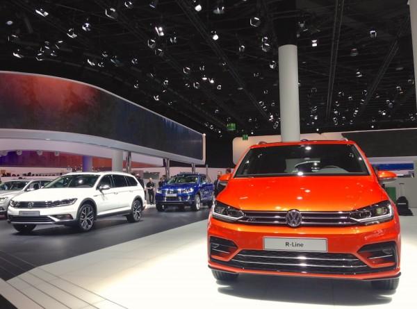 VW Touran Frankfurt 2015